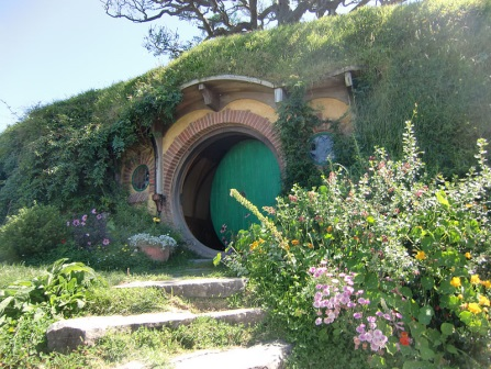 Door into Bag End